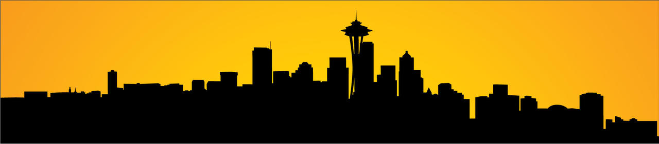 seattle skyline by kingnothing on deviantart seattle city skyline vector free seattle city skyline vector free