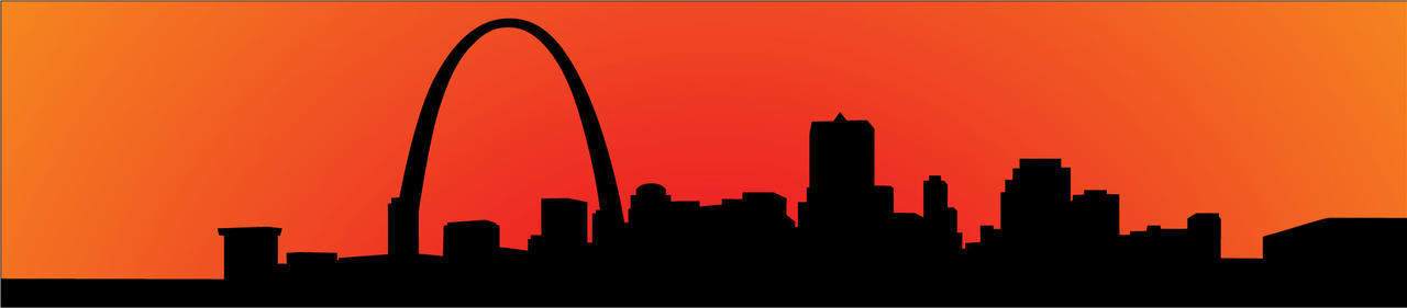 St. Louis Skyline by kingnothing