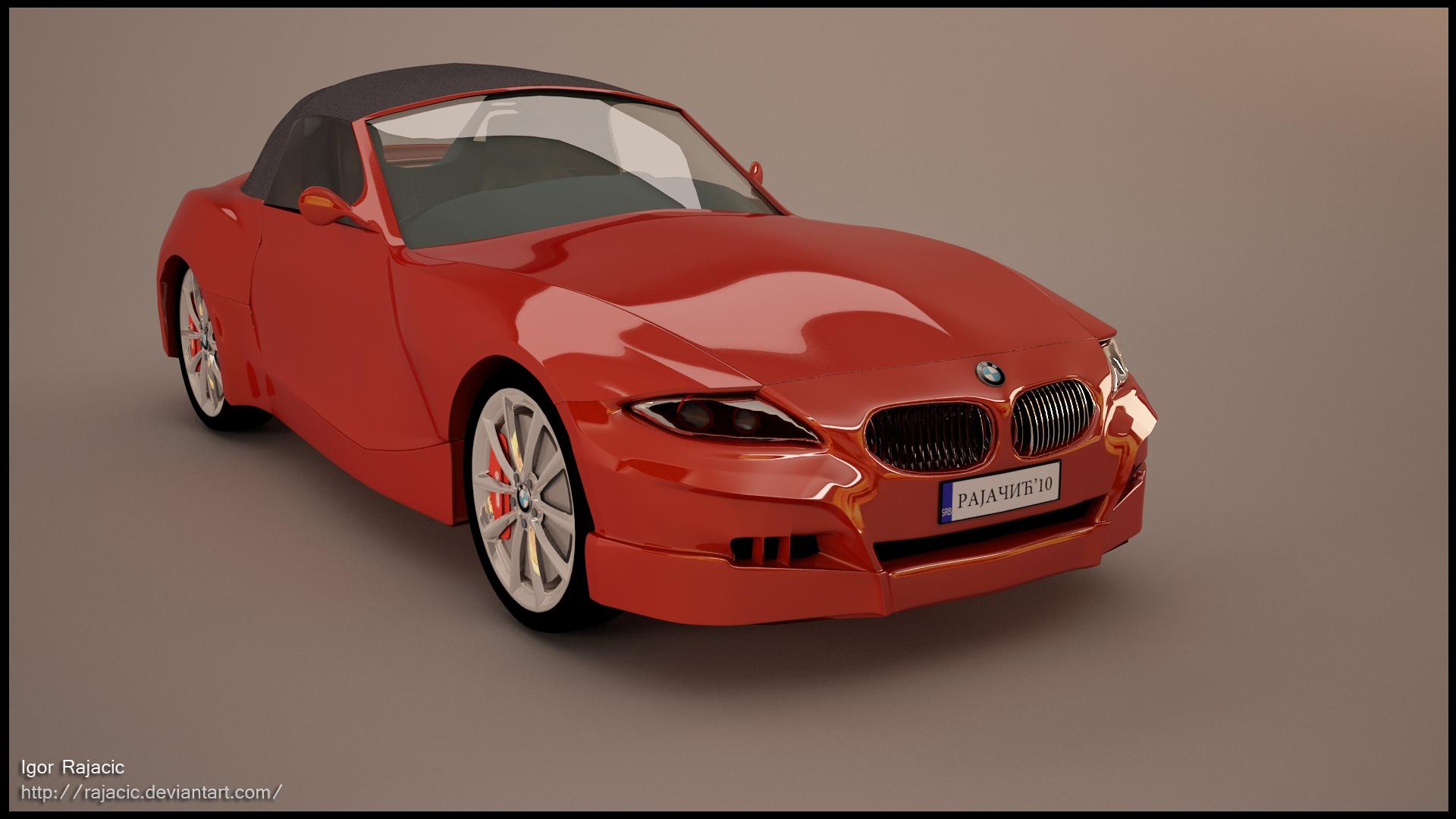 bmw z4 sport cabrio by rajacic on deviantart. Black Bedroom Furniture Sets. Home Design Ideas