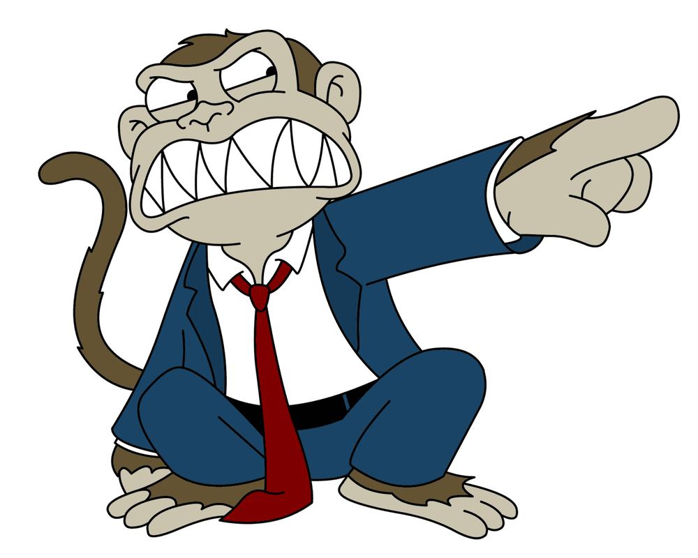 Image result for family guy monkey