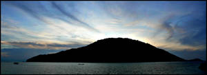 Wispy Sunset by dantudose