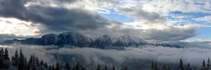 Bucegi Mountains by dantudose
