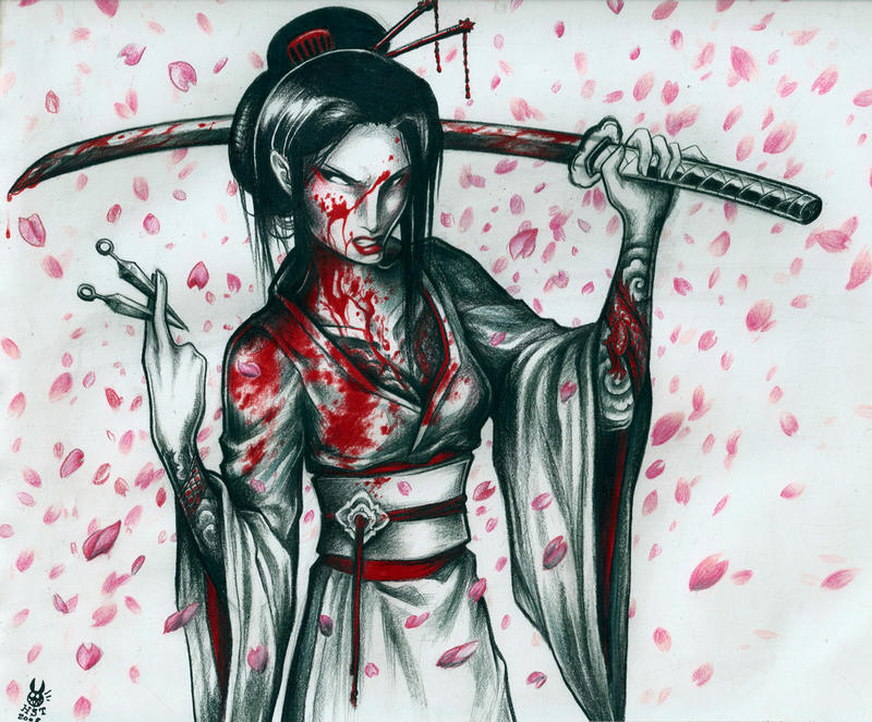 the lady snowblood - WIP by hiraistrange