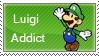 Luigi Addict Stamp by SugarJem