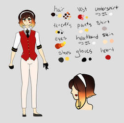 Anzu Akane, Ace of Hearts [Reference/Concept]