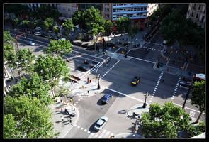 Vida ciudadana en Barcelona