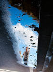 Sky on the floor by Simounet