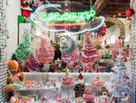 The Christmas candy shop