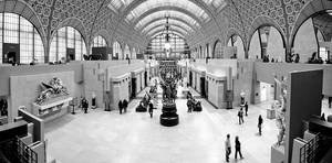 Main view of the Orsay Museum