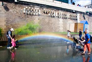 Rainbow bridge by Simounet