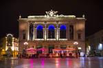 Montpellier - Place de l'Opera by night by Simounet