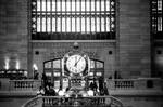The clock of Grand Central