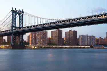 Manhattan Bridge by Simounet