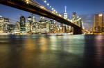 Brooklyn Bridge by Simounet