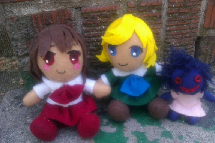 Ib - Ib, Mary, and Disturbing Doll Plushies by AliceOfTheRose