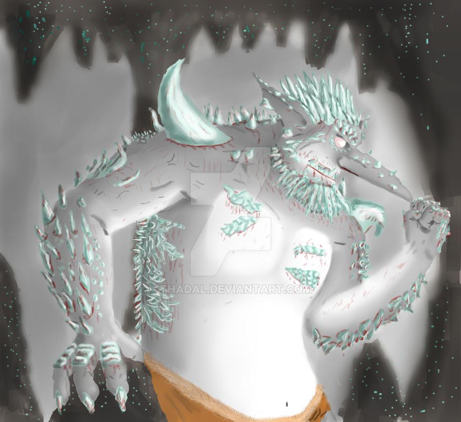 Crystal Troll by Thadal
