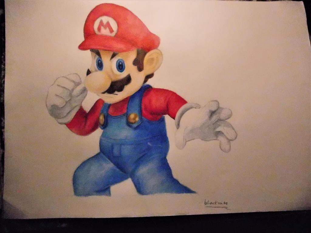 Super Mario by blackcate