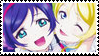 Love Live! School Idol Project Stamp: Nozomi x Eli by memeoverlord