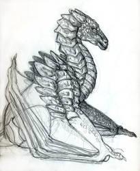 Scrappy dragon by amarok