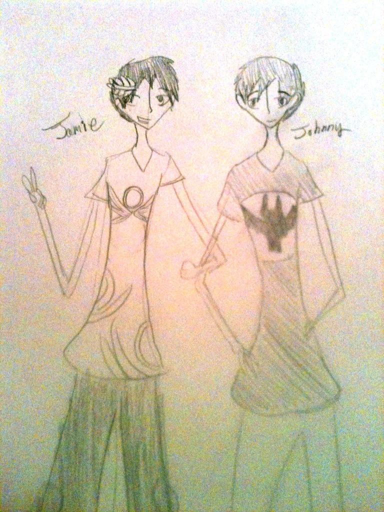 Johhny and Jamie by LinkofSkyloft17