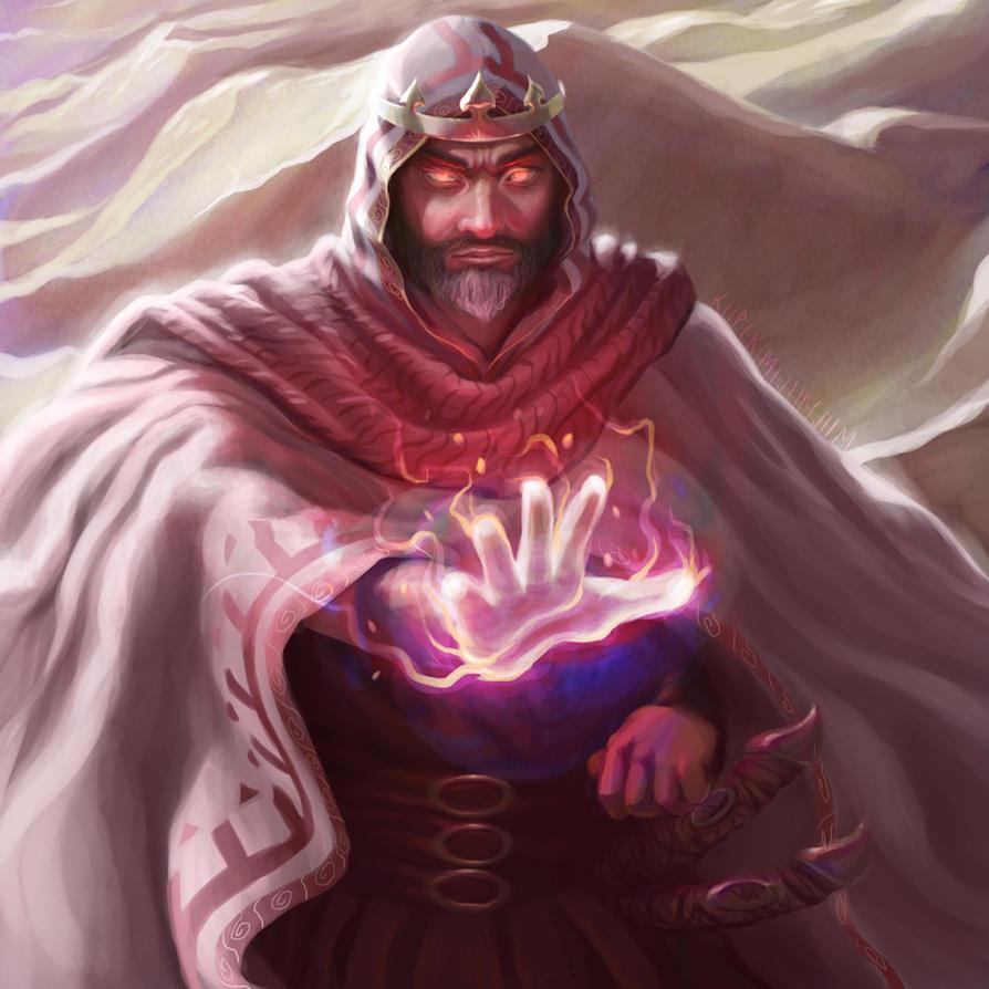 Wandering Wizard by TheKupikimijumjum