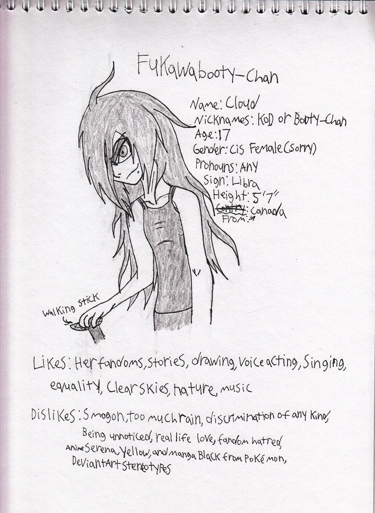 Fukawabooty-chan ref sketch by Kitty-of-Doom524