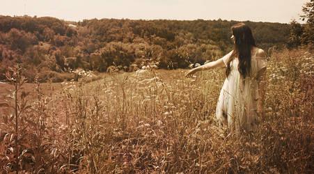 woman in white by Jane-Aspen