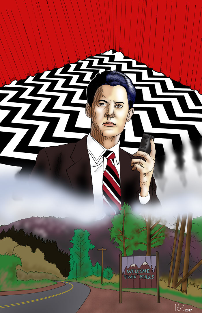 Special Agent Dale Cooper by roryherman