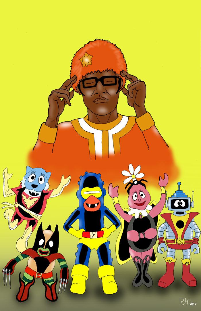 The Uncanny Yo Gabba Gabba by roryherman