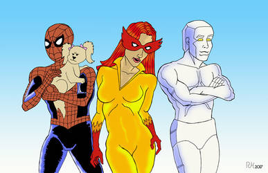 Spider-Man and His Amazing Friends by roryherman