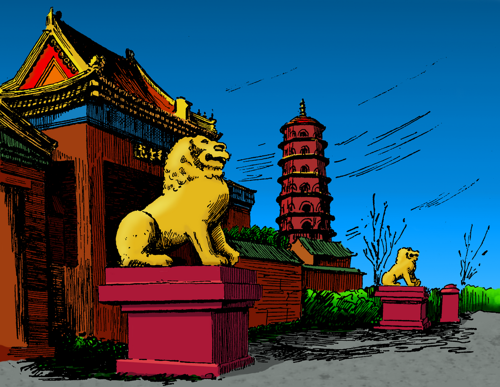 Ancient Chinese Observatory by VitaZheltyakov