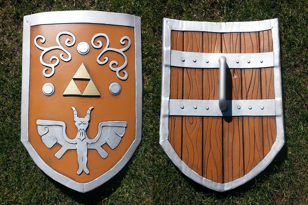 Hero's Shield from Wind Waker by WhatTheFuu