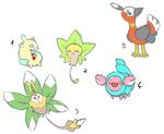fakemon sketches