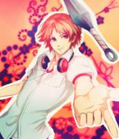Yosuke with kunai by MegumiHayase