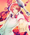 Yosuke with kunai