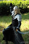 Sephiroth striking a pose