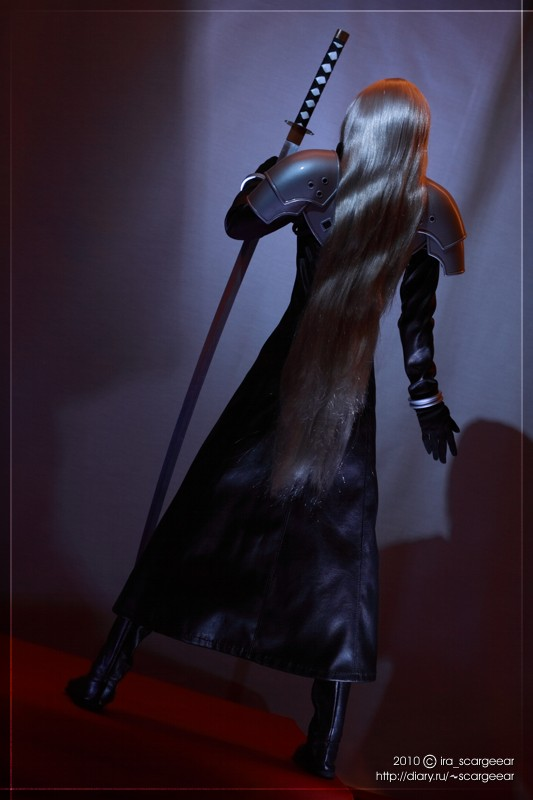 Sephiroth The Strip Dancer 01 by scargeear