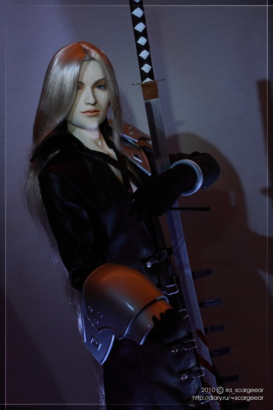 Sephiroth The Strip Dancer 03 by scargeear