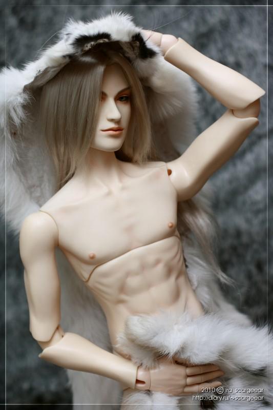 Sephiroth in furs - 1 by scargeear