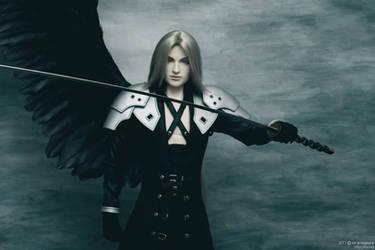 Sephiroth: The final battle 04 by scargeear