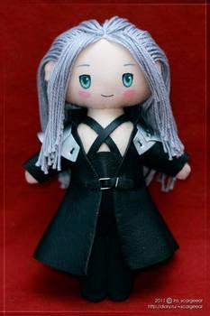 Chibi Sephiroth plushie