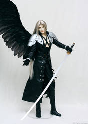 Sephiroth: proud of himself 01 by scargeear
