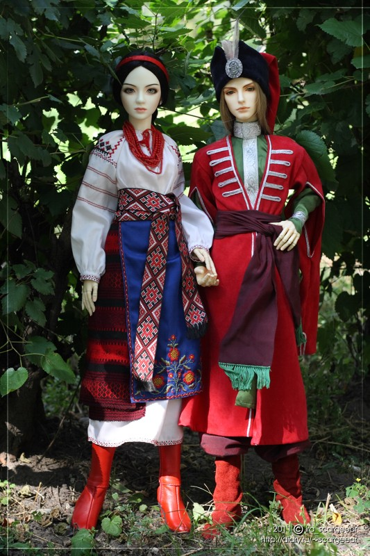 Ukrainian costumes - 01 by scargeear