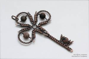 Clover key by scargeear