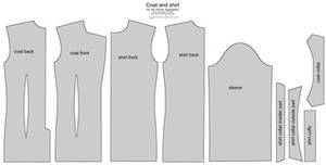 SD BJD (Soom Supergem) suit and shirt