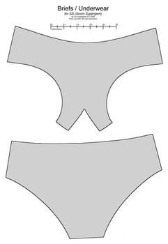 SD BJD (Soom Supergem) underwear