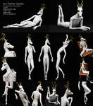 Ascker - ball-jointed doll: full view and posing