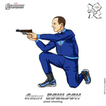 Olympics-2012: Avengers - agent Coulson