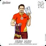 Olympics-2012: Avengers - Iron Man aka Tony Stark