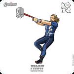 Olympics-2012: Avengers - Thor